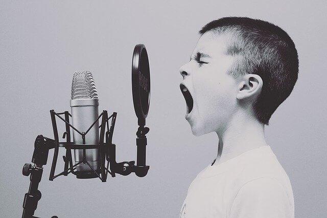 como as aulas de canto online funcionam